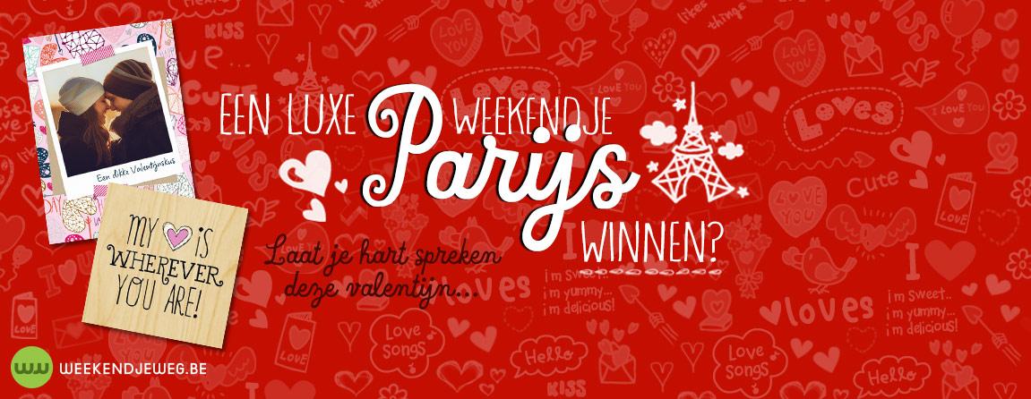 Weekendje Parijs winnen?