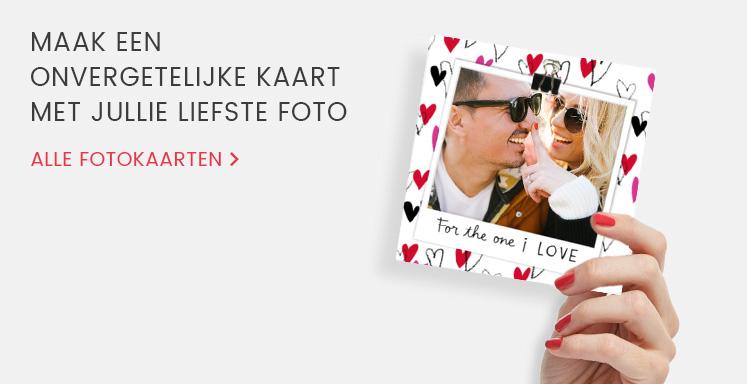 Fotokaarten voor je Valentijn