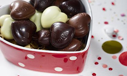 Moederdag cadeau - chocolade pralines