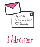 3. Adresseer