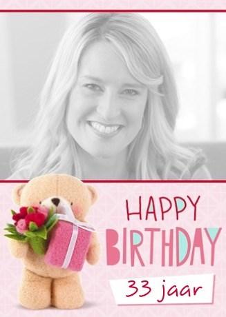 verjaardagskaart vrouw - een-groot-cadeau-voor-jou