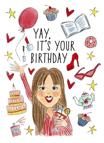 Voorkeur Verjaardagskaarten vrouw | Speciaal voor haar| Hallmark &OB03