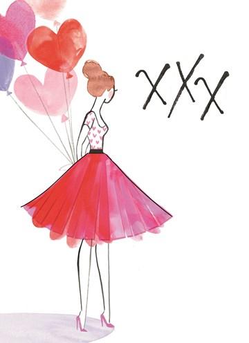 - vrouw-met-ballonhartjes