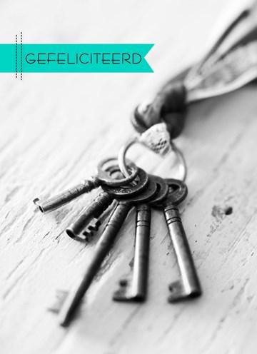 - zwart-wit-foto-sleutelbos