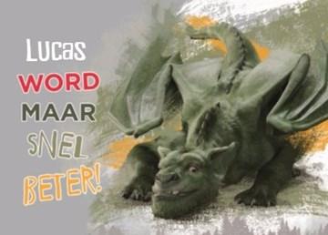 Disney kaart - petes-dragon-word-maar-snel-beter