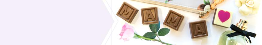 Moederdag chocolade, bonbons en snoep cadeaus