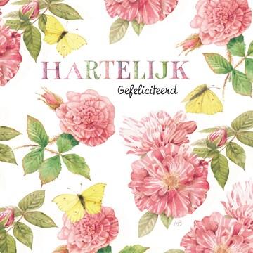 verjaardagskaart vrouw - marjolein-bastin-hartelijk-gefeliciteerd-bloemen