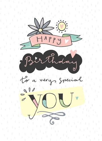 Verjaardagskaart vrouw - funny-side-up-to-a-very-special-you
