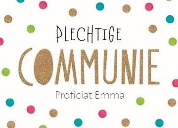 - feestelijke-kaart-plechtige-communie-met-confetti-stipjes