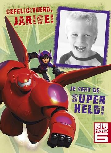 Disney kaart - jij-bent-een-super-held
