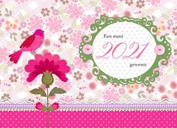 - roze-bloem-met-vogel-2021