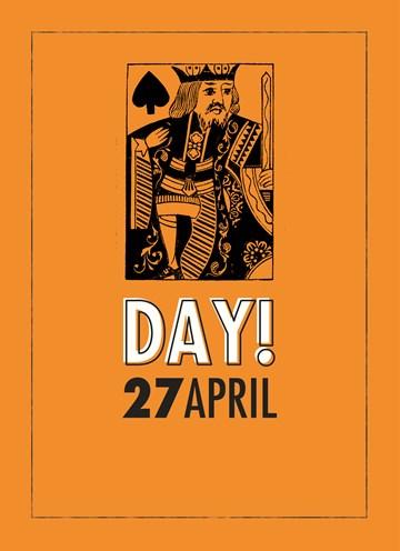 Koningsdag kaart - koningsdag-27-april