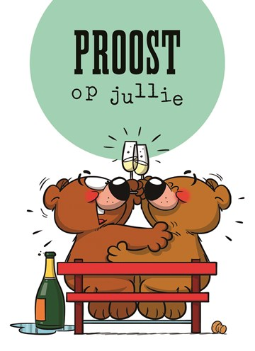 Funny Mail kaart - funny-mail-proost-op-jullie-