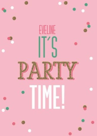 - gefeliciteerd-vrouw-its-party-time-confetti