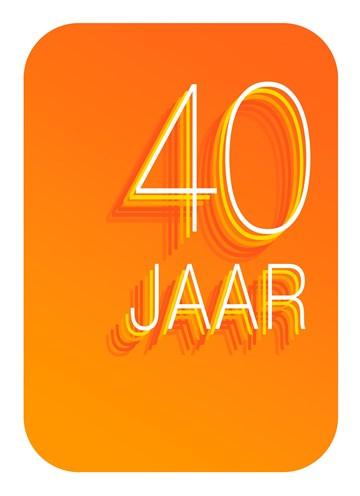 - verjaardagskaart-40-jaar-oranje