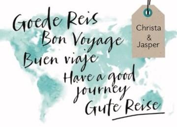 Reiskaart - restyle-reizen-kaart-met-de-tekst-goede-reis-in-meerdere-talen