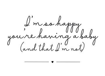 In verwachting kaart - happy-having-a-baby