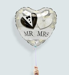 Ballon Mr. & Mrs.