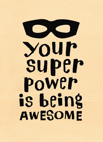 Vaderdag kaart - your-superpower-is-being-awesome