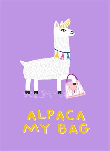 Reizen kaart - alpaca-my-bags-