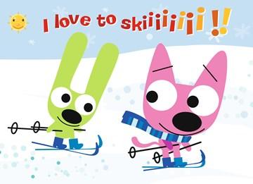 Winterkaart - I-love-to-skiii