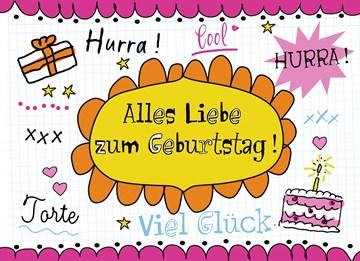 Geburtstagskarte Teen Mädchen - 48FE0051-173F-4796-AA0C-181E30B11DB7