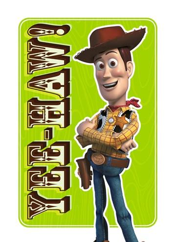 Disney kaart - sheriff-yee-haw