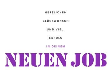 Karten zum neuen Job  - 3D719199-EFFA-415E-8F8F-CE66718D7A20