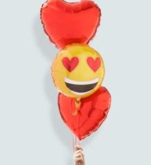 Ballonnentros Smiley Hart