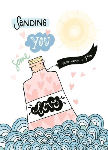 - Flesje-liefde