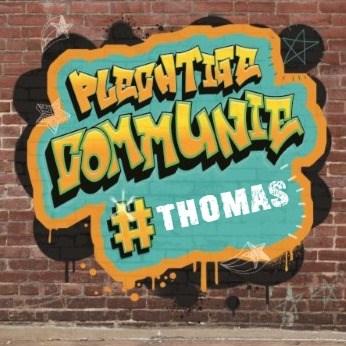 Communie kaart - stoere-plechtige-communie-kaart-met-graffiti