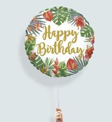 Ballon Verjaardag Botanical