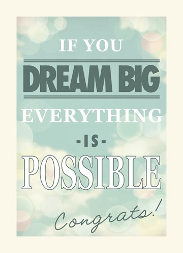 nieuwe woning verhuiskaart - if-you-dream-big-everything-is-possible-