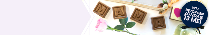 Moederdag chocolade, bonbons en snoep cadeaus – ook bezorgd op zondag 13 mei