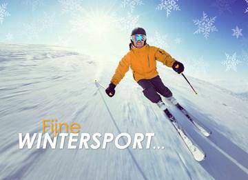 Winterkaart - fijne-wintersport-skien