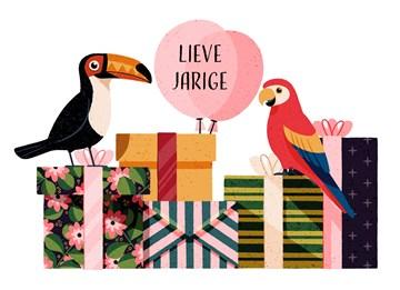 - Verjaardagskaart-Vrolijk-Vogels-Folio