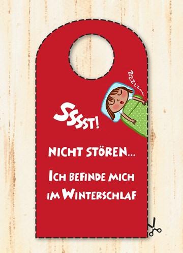 Winterkarte - Winter Grußkarte  - D7385C58-50BB-4417-B6B9-7273E0ABE4DE