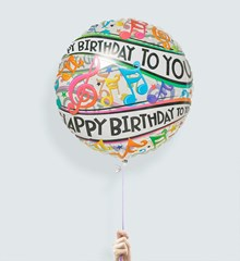 Ballon XL Happy Birthday Music