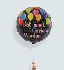 Ballon Dat Moet Gevierd Worden