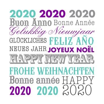 Kerstkaart - happy-new-year-gelukkig-nieuw-jaar-2020
