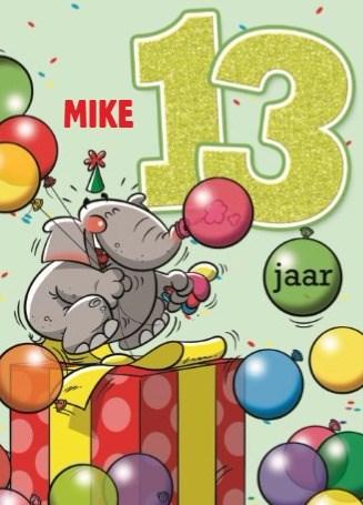 Verjaardagskaart tienerjongens - verjaardag-leeftijden-lorenzo-de-bruin-13