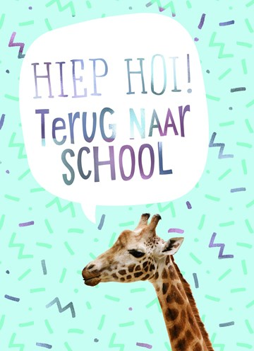 - Back-to-school-kaart-Giraffe