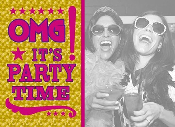 - geel-roze-omg-its-party-time-uitnodiging