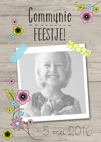 - fotokaart-communie-feestje-bloempjes
