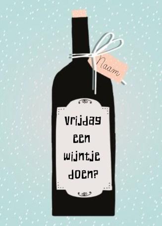 wijntje-doen