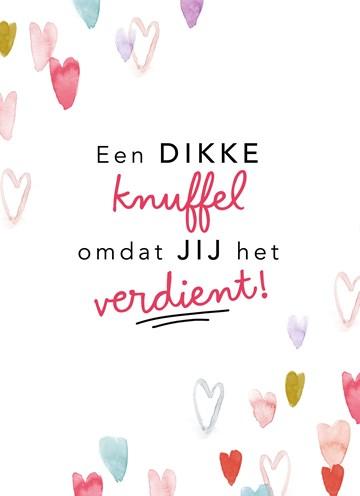 Valentijnskaart - valentijnkaart-een-dikke-knuffel-omdat-jij-het-verdient
