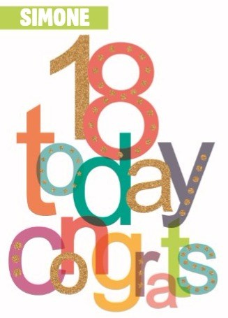 Verjaardagskaart leeftijden - prodo-today-congrats