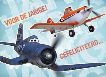 - twee-vliegtuigen-voor-de--jarige-gefeliciteerd