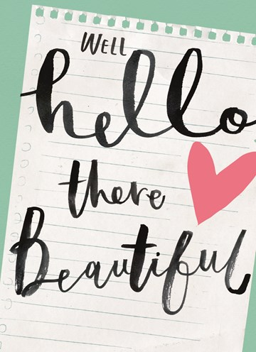 - hello-there-beautyful
