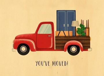 Nieuwe woning / Verhuiskaart - you-have-moved
